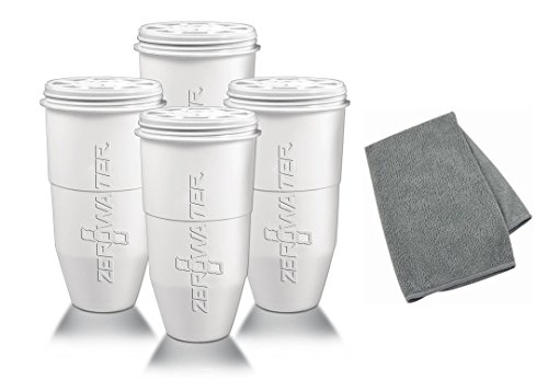 Zerowater Replacement Filters   And Innovadea Microfiber Cle