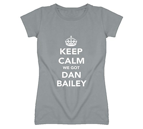Mad Bro Tees Keep Calm Dan Bailey Dallas Football Fan Ladies Funny T Shirt S Sport - Canada Baileys