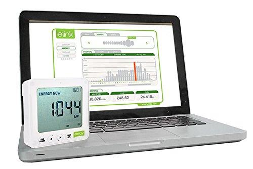 2 opinioni per Efergy- E2 eLink Misuratore wireless del consumo di energia elettrica