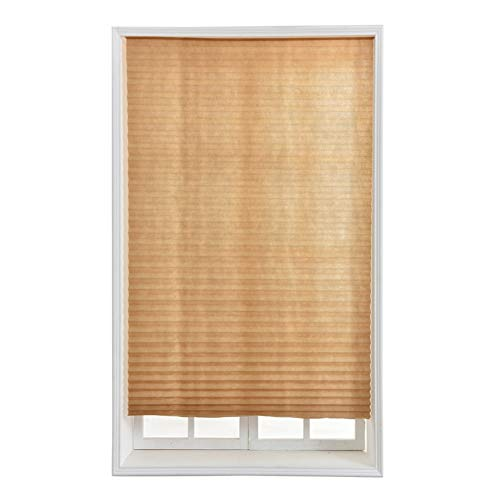 Non-Woven Fabric Pleat Shade Light Filtering Pleated Fabric Shade Bathroom Window Curtains