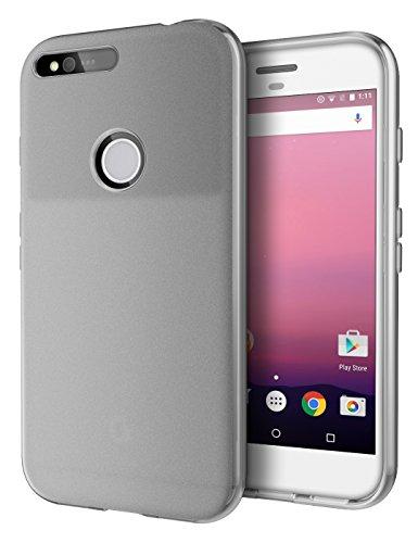 (Google Pixel XL Case, Cimo [Matte] Premium Slim Protective Cover for Google Pixel XL (2016) - Smoke)