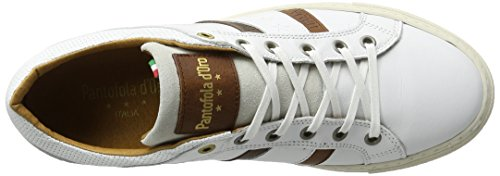 Monza Bright d'Oro Stringata Scarpa Low Pantofola White Bianco Uomo H5CfxZfwq