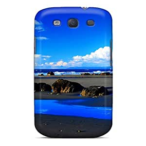 Galaxy S3 Abstract 3d Print High Quality Tpu Gel Frame Cases Covers