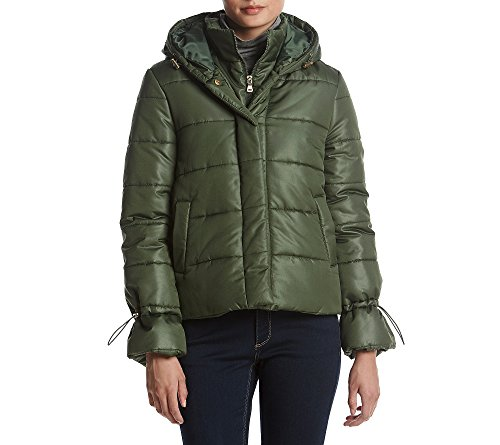 Rampage Luna Hidden Zip Jacket Hunter Green Small