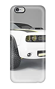 New Fashion Premium Tpu Case Cover For Iphone 6 Plus - 2014 Dodge Challenger At Untamed Concept