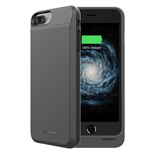 iPhone 7/8 Plus Battery Case, GIN FOXI 6000mAh Portable Protective iPhone 7 Plus Battery Charging Case Extended Power…