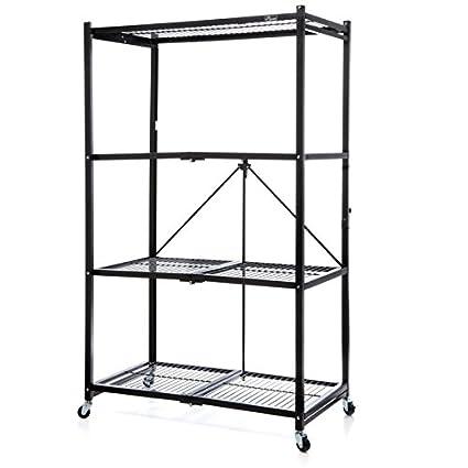 Amazon Origami General Purpose 4 Steel Collapsible Shelf