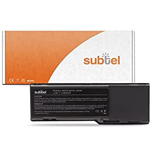 subtel® Batería premium (6600mAh) para Dell Inspiron 1501 / 6400 / Inspiron E1505 / Latitude 131L / Vostro 1000 KD476 bateria de repuesto, pila reemplazo, sustitución