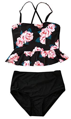 Floral High Waisted Bikini Set in Australia - 5