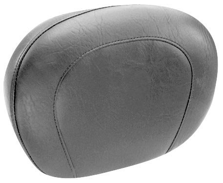 Mustang Motorcycle Seats Passenger Backrest Pad - Smooth - 14in