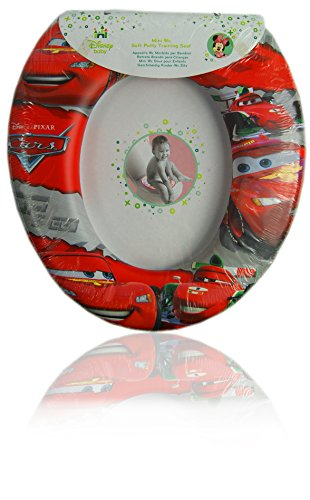 Soft Seat Cars Potty (Disney Pixar Cars Kids Soft Padded Potty Toilet Training Seat Official Licensed)