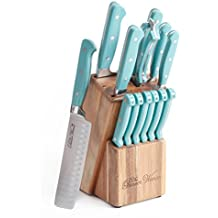 14-Piece ,TURQUOISE,The Pioneer Woman Cowboy Rustic Cutlery Set,