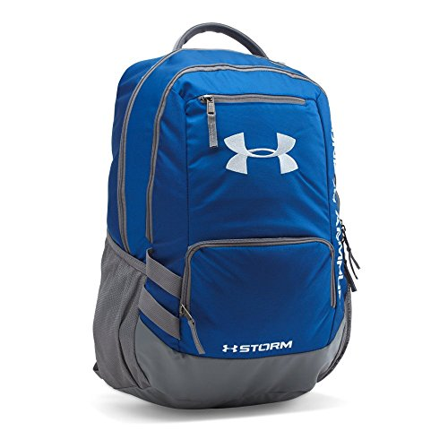 Under Armour Storm Hustle II Backpack, Royal (400)/Silver, One Size