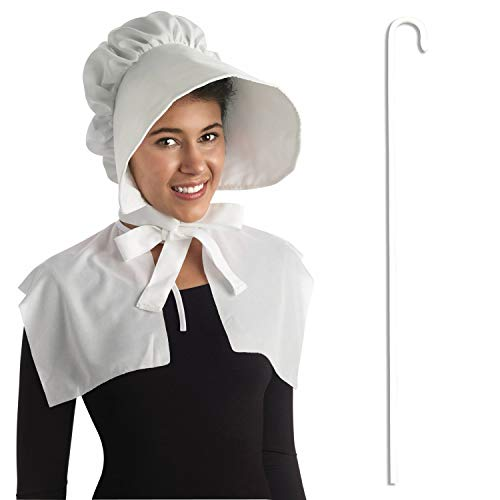 Adult Pilgrim Shepherd Woman Little Miss Muffet Bo Peep Costume Accessory -
