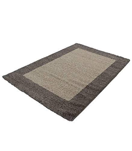 Hochflor Langflor Wohnzimmer Shaggy Teppich Teppich Teppich 2 Farbig Florhöhe 3cm - Rot-Bordeaux, 300x400 cm B0741DVGXX Teppiche 77af92