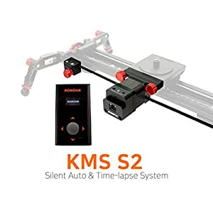 KONOVA New Motorized System KMS S2 for Live Motion and Timelapse Compatible with All Konova Sliders