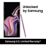 "Samsung Galaxy Note 9 Factory Unlocked Phone with 6.4"" Screen and 128GB (U.S. Warranty), Lavender Purple"