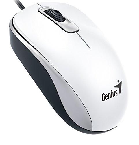 Genius Wired Optical, White (DX-110White)