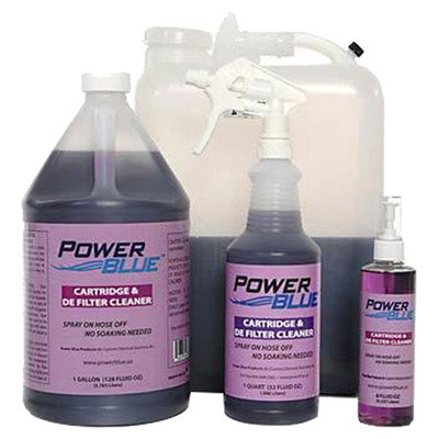 - Jack's Magic Power Blue Instant Spray Cartridge and DE Filter Cleaner Size: 1 Gallon