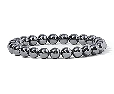 MEIQING Obsidian Handmade Energy Therapy Bracelets for Weight Loss