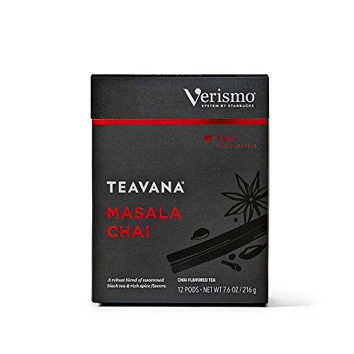 Starbucks Teavana Masala Chai Tea Verismo Pods, 12 Count