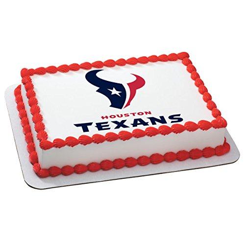 NFL Houston Texans Licensed Edible Sheet Cake Topper