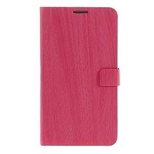 GX Teléfono Móvil Samsung - Bolsas - Diseño Especial - para Samsung Galaxy Note 3 ( Marrón/Rosado/Gris , Cuero PU ) , Gray