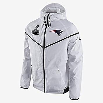 new styles 93c1f c9b17 Nike New England Patriots Super Bowl XLIX Tech Windrunner ...