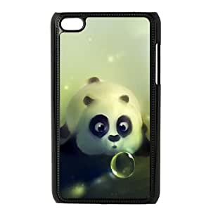 Funny Kung Fu Panda iPod Touch 4 Case Black phone component AU_546344