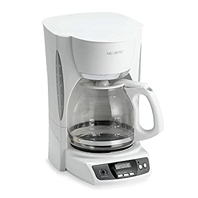 Mr. Coffee 12-Cup Programmable Coffee Maker in White