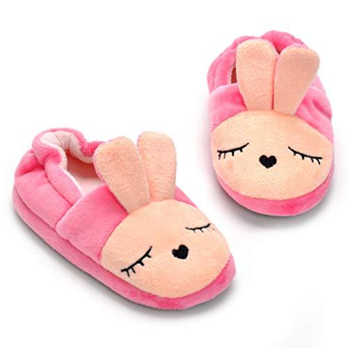 Image of Butterflykisses Baby Girl's Rabbit Cotton Soft Slipper