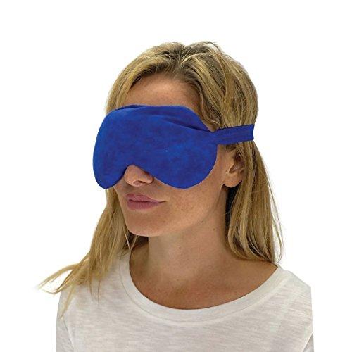 Nature Creation Lavender Eye Mask - Sleep Mask (Blue Marble)