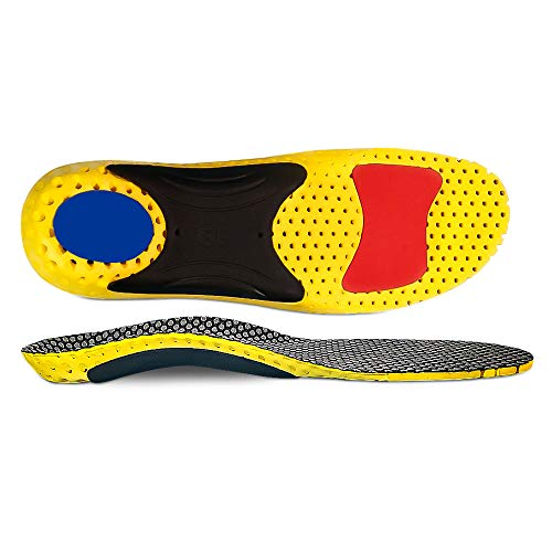 High Arch Orthotic InsertsOrthotic Insoles Support Injection for Flat Feet,...