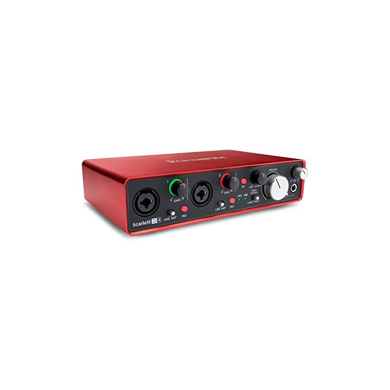 Focusrite Scarlett 2i4 (2nd Gen) USB Aud