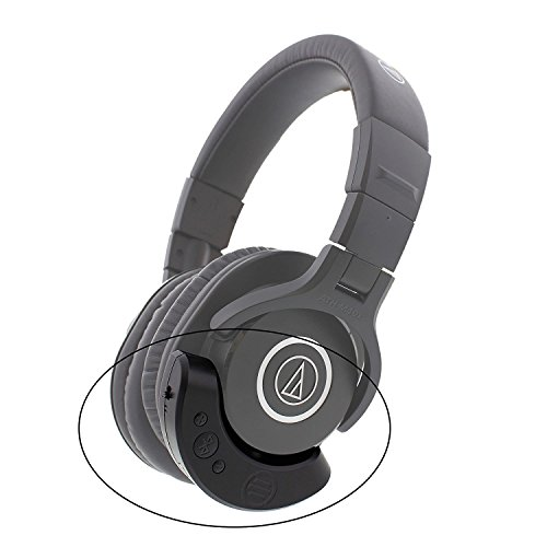 East Brooklyn Labs Bluetooth Adapter and Amplifier for Audio-Technica ATH M40x Professional Headphones from Wired to Wireless