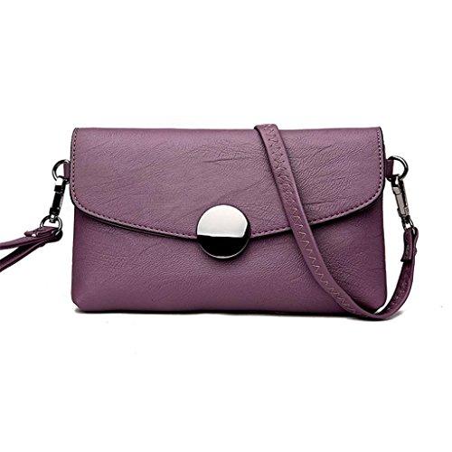 NVBAO Sacchetto di spalla del sacchetto femminile piccolo borsa quadrata sacchetto borsa obliquo del sacchetto di spalla Lavorano sei colori, grass green 5