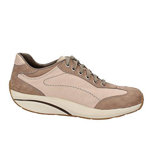 MBT Sneakers Donna 37 EU Beige Tessuto Nabuk