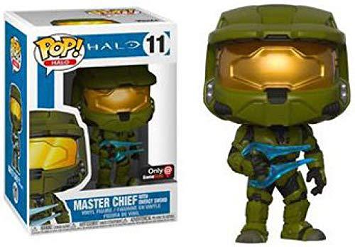 Funko POP! Halo: Master Chief with Energy Sword - Bobble Head Halo