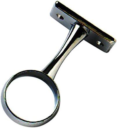 1/pulgada barra soporte de armario cromada Bulk Hardware BH04425/25/mm
