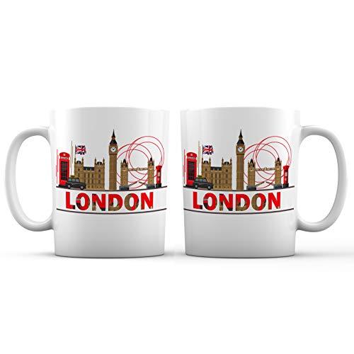 London City View Ceramic Coffee Mug - 11 oz. - Awesome...