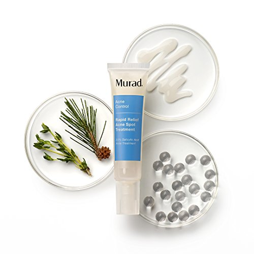 Murad Rapid Relief Acne Spot Treatment with 2% Salicylic Acid - (0.5 fl oz), Maximum Strength Invisible Gel Spot Treatment for Fast Acne Relief That Reduces Blemish Size and Redness Within 4 Hours by Murad (Image #4)