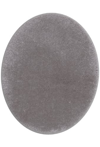 STAINMASTER TruSoft Luxurious Bath Toilet Lid Rug, Standard Lid Cobble Stone Grey - Toilet Seat Covers Sets
