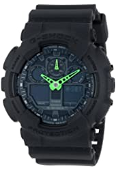 G-SHOCK Men's GA-100 Neon Highlights Watch