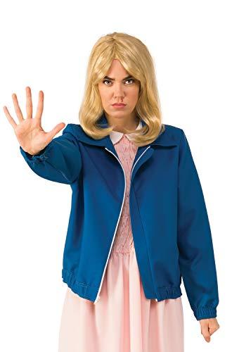 (Rubie's Women's Standard Stranger Things Season 1 Adult Eleven Blue Jacket,)