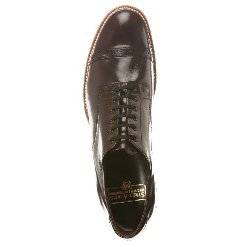 Stacy Adams Madison 00012 Mens Oxford 7 D (m) Oss Vinröd