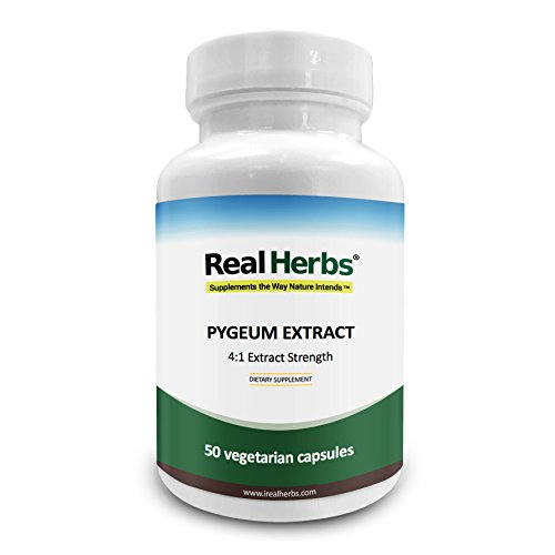 rk Extract - Derived from 2,000mg of Pygeum Bark with 4 :1 Extract Strength - Supports Urinary Tract Health, Improves Sexual Function – 50 Vegetarian Capsules ()