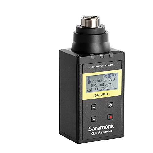 Saramonic XLR Microphone Plug-in Linear Digital Recorder Professional Video, (SR-VRM1)