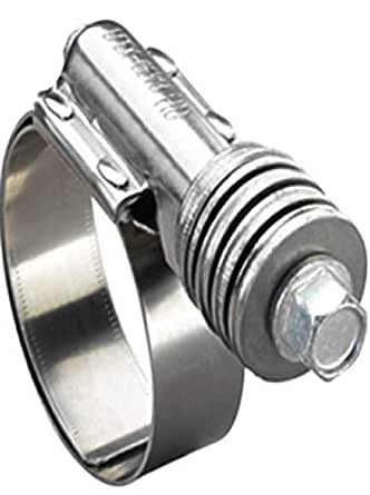 209.6 mm Ideal Tridon 300100825051 Stainless Steel 30010 Series 201//301 T-Bolt Hose Clamp 217.4 mm Hose OD Range 236 SAE Size Heavy Duty
