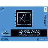 Canson XL acuarela Pad, Plegable, Blanco, 11X15, 1
