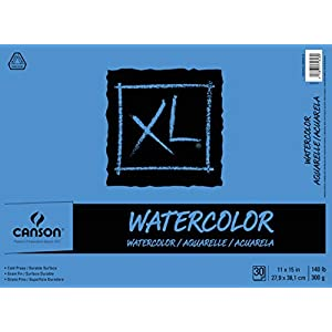 Canson XL Series Watercolor Textured Pad